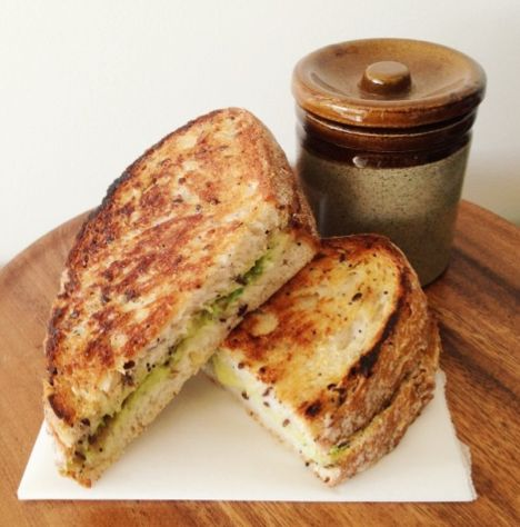 I Quit Sugar: Avocado and Cheese Toastie