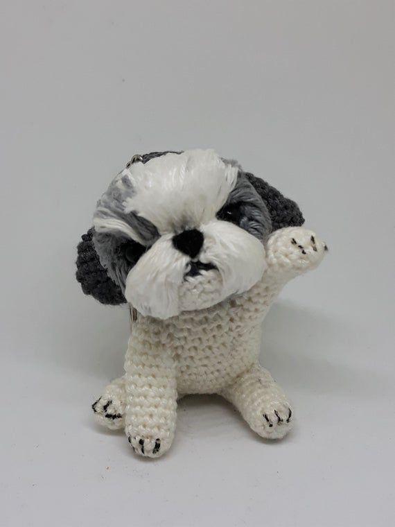 Amigurumi Mini Dog Free Pattern - cute but knitted | Crochet ... | 760x570