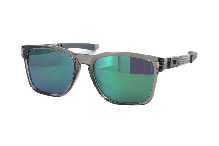 Oakley Catalyst OO9272 19 Sonnenbrille in polished grey ink | Manche Sonnenbrillen schützen Ihre Augen, andere schützen Ihr Image. Oakley-Sonnenbrillen schützen Beides. Ein Stil für jeden Geschmack, mit der Technologie für jeden Bedarf. Sonnenbrillen für jede Situation.Gönnen Sie sich eine...