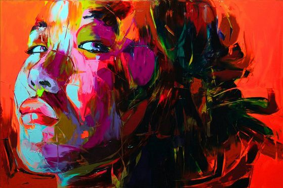 Françoise Nielly – Fluo Painting