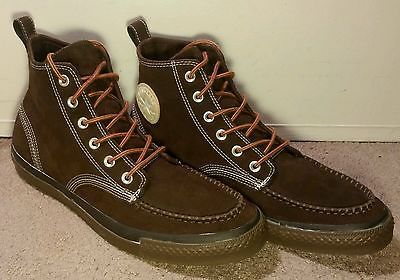 Converse All star chuck taylor Men's Classic Brown Suede Sawtooth Boot US 12