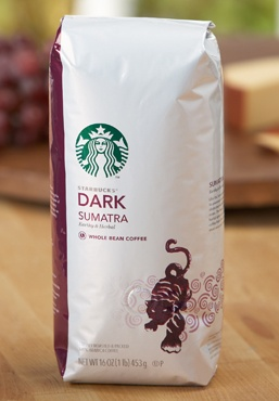 Starbucks Sumatra Coffee.  Sumatra (both regular and decaf for late at night) is my favorite Starbucks coffee. The decaf is the best decaf coffee I have ever tasted!