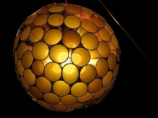 DIY Chandelier Cup Light