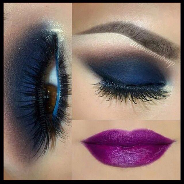 Love this glam look