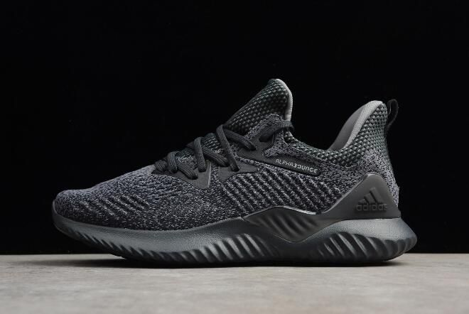 e046a357 New alphabounce EM M Grey Black Men's Running Shoes AQ0573 in 2019 ...