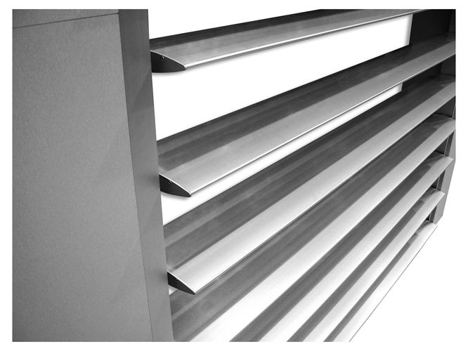 Productos Lama Parasol - Lama Parasol Regulable - Sistemas de Carpintería en Aluminio, Perfiles, Ventanas y Puertas en Aluminio...