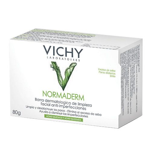 Normaderm Sabonete Dermatológico Vichy - Limpador Facial - Época Cosméticos
