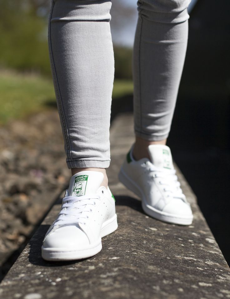 The Adidas Stan Smith in white and a flash of green - always a schuh favourite.