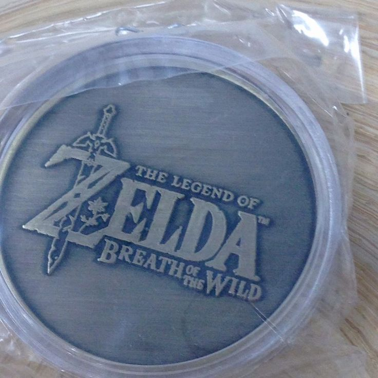 Legend of Zelda Breath of the Wild Collectible Coin E3 2016 Exclusive Brand New