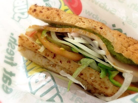 The New Subway Sandwiches more hummus less meat