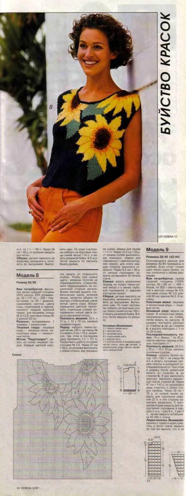 提花针织衫 - 蕾妮的日志 - 网易博客 | вязание(жаккард,вышивка) | Постила
