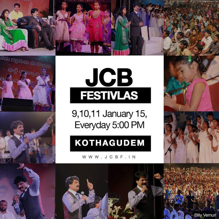 JCB Festivals - Nellore - Bro. AnilKumar