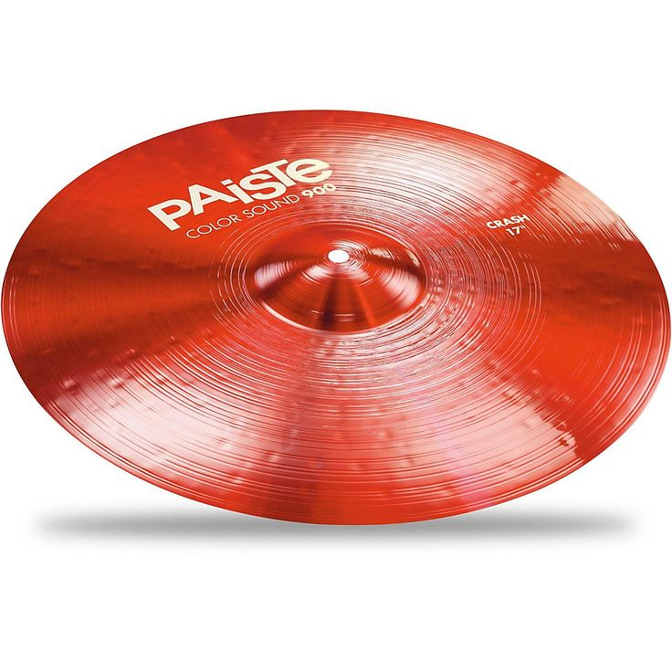Paiste Colorsound 900 Crash Cymbal Red 17 in.