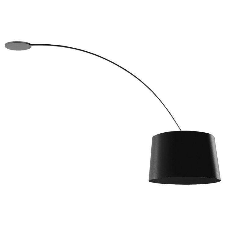TWIGGY - Plafonnier Noir | Lustre et plafonnier Foscarini designé par Marc Sadler | LightOnline
