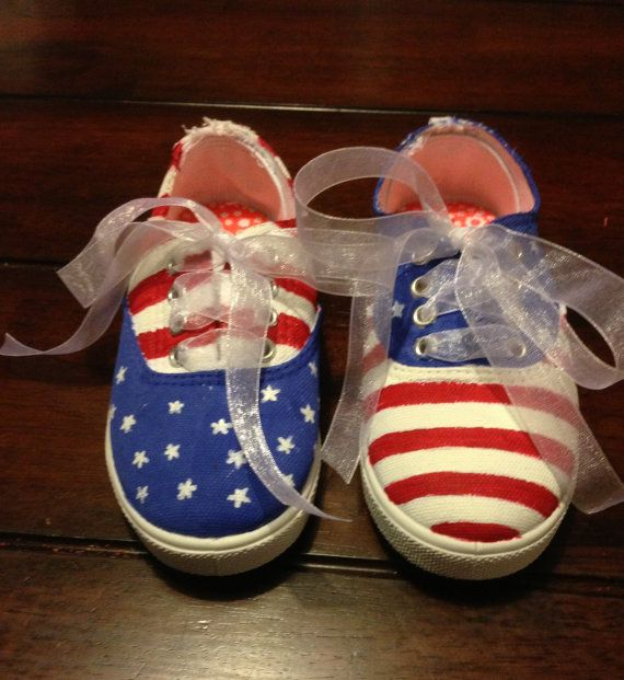 Girls shoes  hand painted shoes  kids shoes  by NprintSJewelry, $30.00