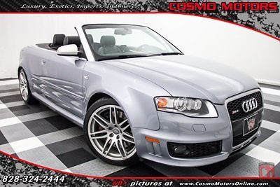nice 2008 Audi RS4 2dr Cabriolet - For Sale View more at http://shipperscentral.com/wp/product/2008-audi-rs4-2dr-cabriolet-for-sale/