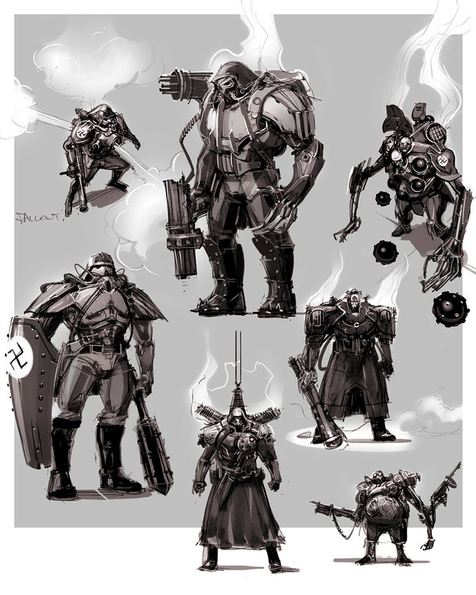 Concept Character Design Brief : By paul richards characters pinterest sci fi
