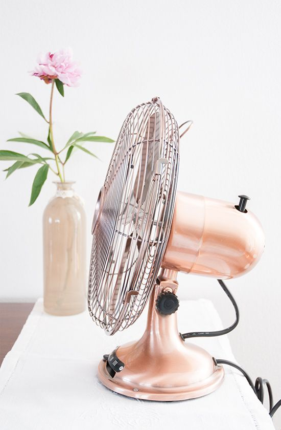 HOME | Copper fan