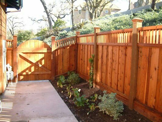 70 best images about fences on pinterest fence design for Craftsman style fence