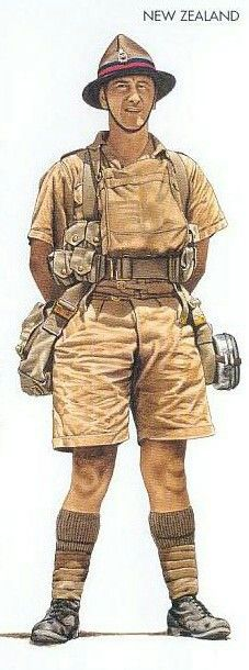 New Zealand gunner, North Africa december 1940, pin by Paolo Marzioli