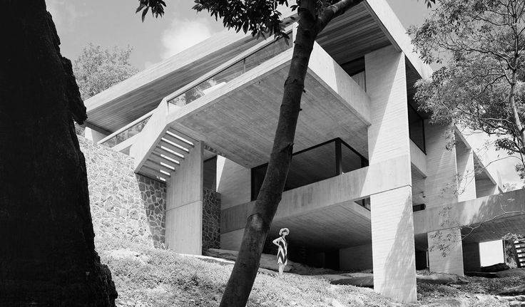 Harry and Penelope Seidler House, just after completion.