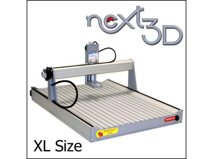 GoCNC Next3D CNC-Fräsmaschine XL mit Alutisch