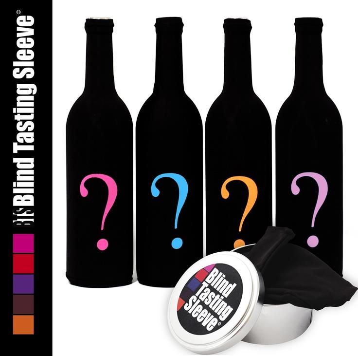www.blindtastingsleeve.com Which color do you prefer ? Il en existe 8 différentes ! #Vin #Degustation #Accessoire