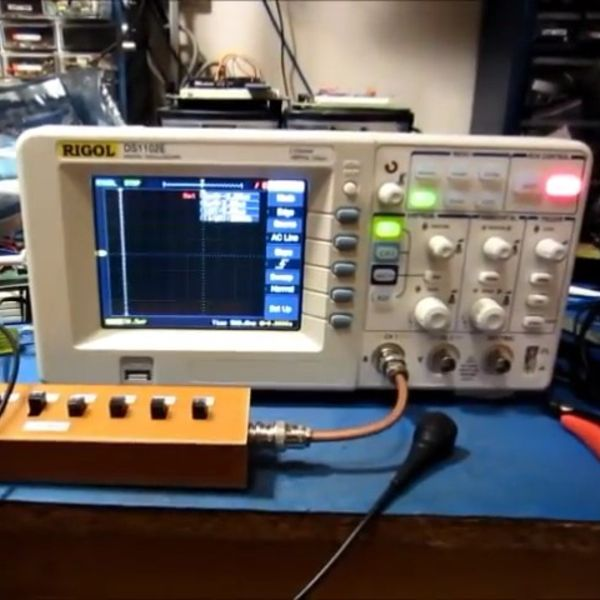 No Spectrum Analyser?  No Problem! | Hackaday