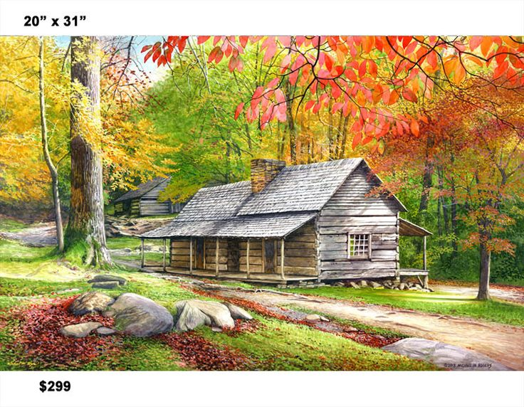 What other options for Bud Ogle Cabin would you like to see? Paint Cabin In All Four Seasons Offer Print Framed Larger Canvas Size Paper Prints Other Please Specify: Poll Maker