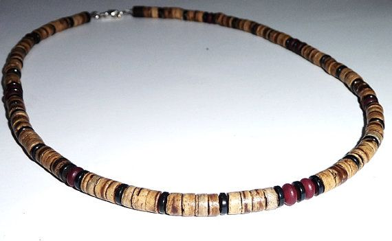 Mens Necklace Necklace for Men Handcrafted by MiTTiNaturals
