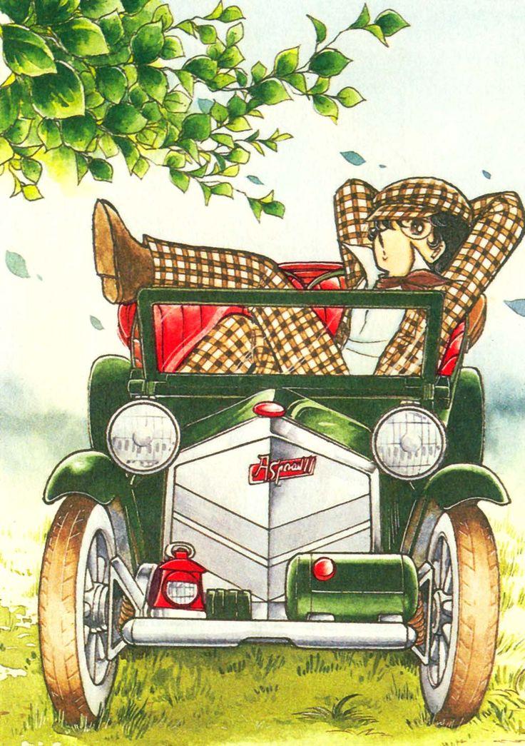 Stear Andry y sus inventos que nunca funcionaban...jajaja...de la seria Candy Candy de Yumiko Igarashi