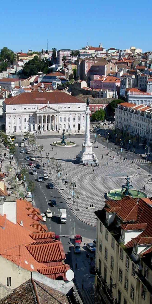 Rossio Square, Lisboa, Portugal