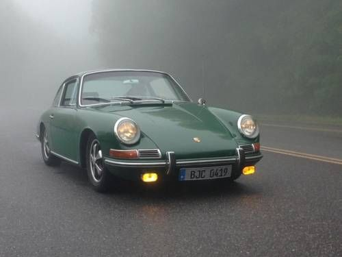 Gorgeous Irish Green Porsche 912 For Sale (1967) on Car And Classic UK [C479940]