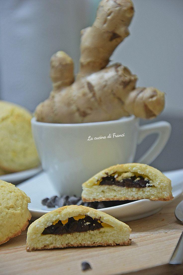 Biscotti zenzero e cioccolato senza glutine