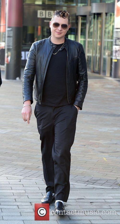 John Newman 2015 | John Newman - John Newman leaves the BBC Breakfast Studios in Media ...