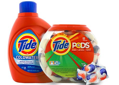 Get Your Free Tide Laundry Detergent