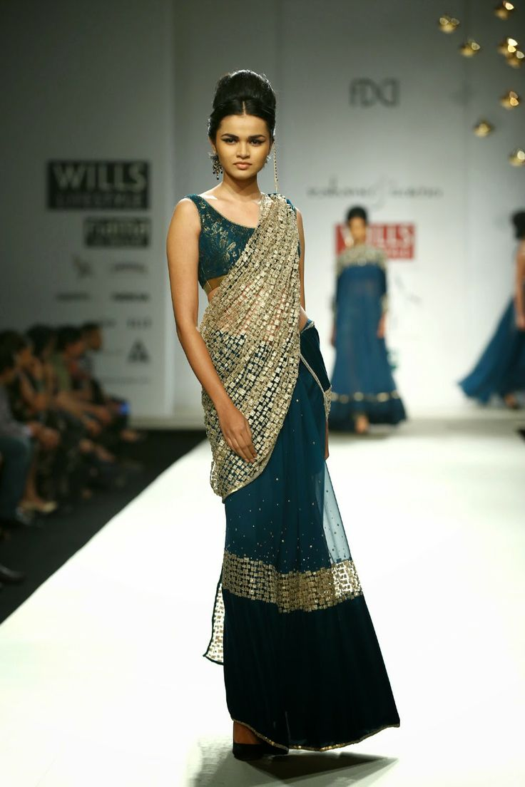Rabani & Rakha Show at Wills Lifestyle India Fashion Week 2014