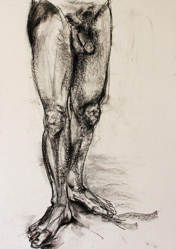 Human Figure by Jessica Costa, via Behance