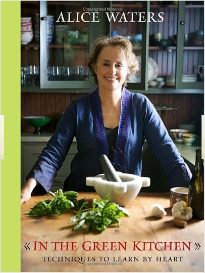 In the Green Kitchen (Alice Waters)   need to buy this one! Lots of quick and easy recipes.