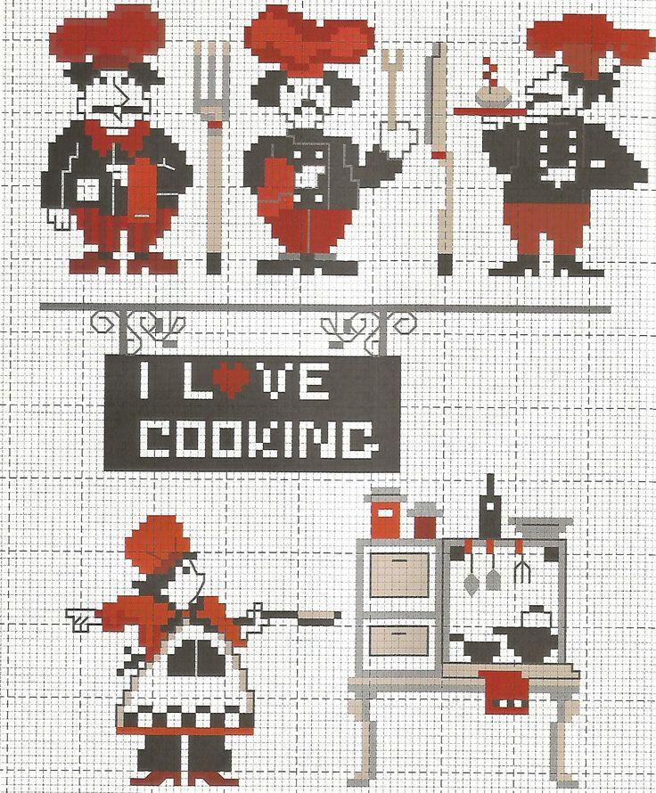 amo cucinare 1 - love cooking
