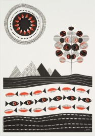 Pop-up poster Landscape. Images by Jurianne Matter.
