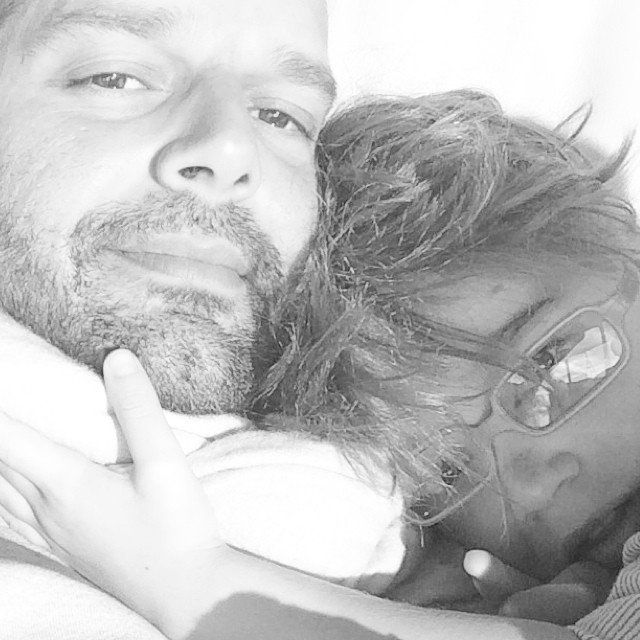Pin for Later: Get a Sweet Look at Ricky Martin's Life as a Father