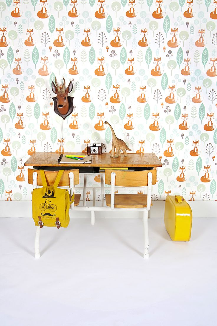Fun Bright Wallpaper For Kids Room