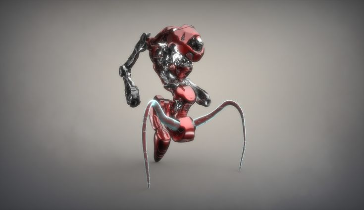 ArtStation - Mechanic Ant, Peter Mikielewicz