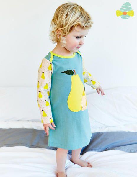Appliqué Jersey Dress 73148 Dresses at Boden #Boden #Easter #Miniboden