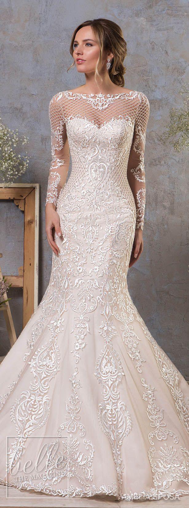 Amelia Sposa <—- I love certain aspects about it, although these types of dresses, mermaid/fit and flare, aren't my style ~AS