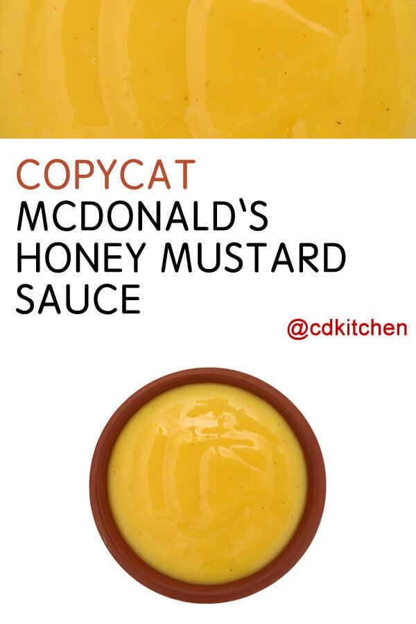 Made with Heinz 57 Sauce, honey, prepared mustard | CDKitchen.com