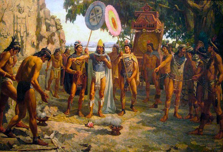 La Pintura y la Guerra Moctezuma