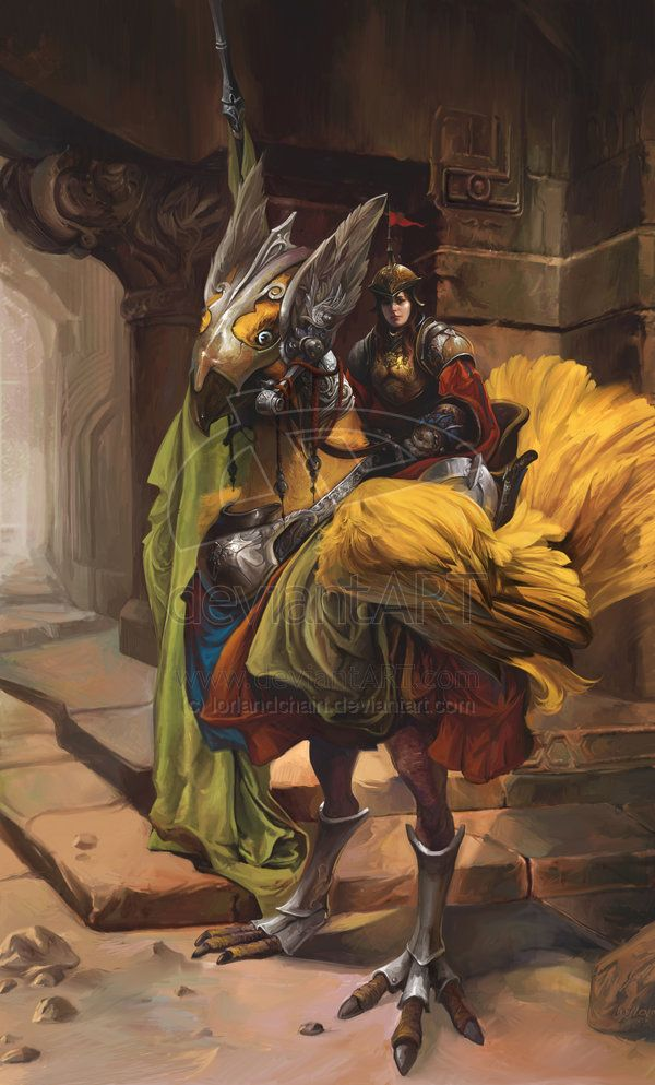 Inspiration for character: Nira [Fantasy variant] (Paladin by lorlandchain deviantart)