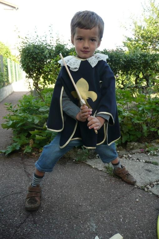 Déguisement de mousquetaire - Musketeer costume